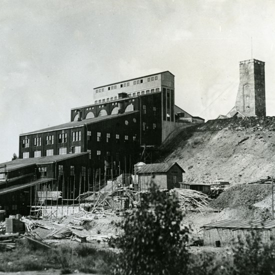 Outokumpu copper mine in the 1920s