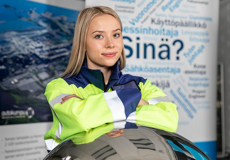 Student, Outokumpu summer employee, Tornio