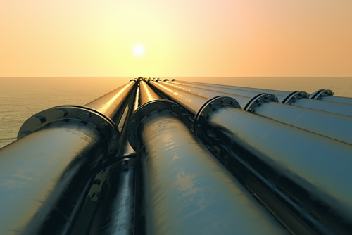 Offshore oil and gas pipes