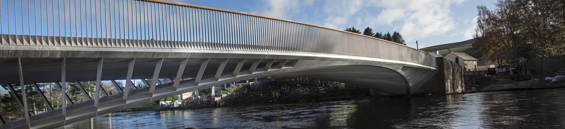 Pooley Bridge made of Outokumpu stainless steel