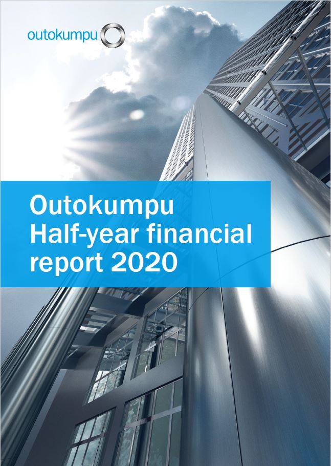 Outokumpu half-year 2020 report - cover
