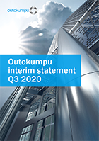 Outokumpu q3 2020 interim statement cover