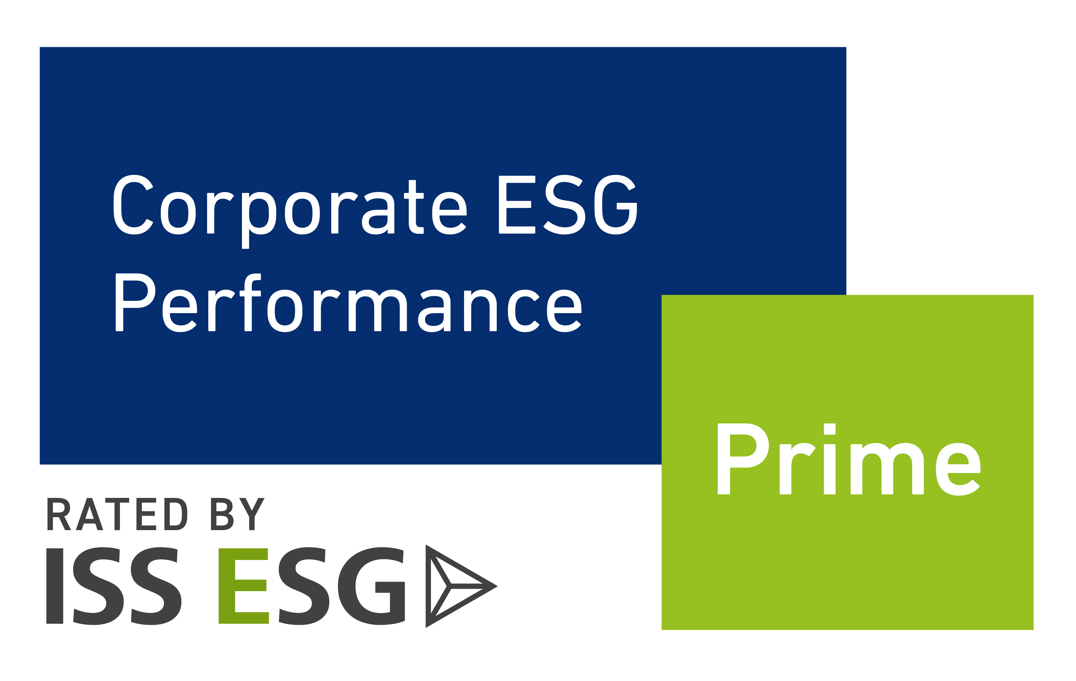 Prime Label by ISS ESG sustainability rating