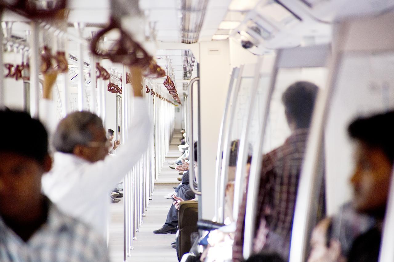 Sustainability Delhi metro